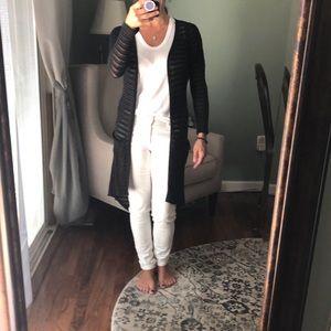 Full tilt long black cardigan
